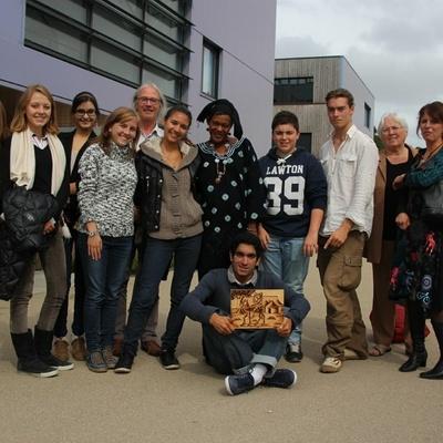 """Les élèves du club """"Les Ptits du Mali"""" ont rencontré Djénaba Traoré"""