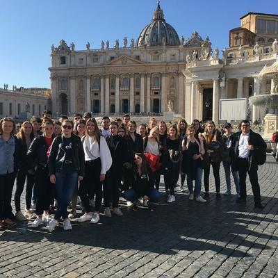 Les Terminales de Bacs Pro GAC et TP en séjour à Rome