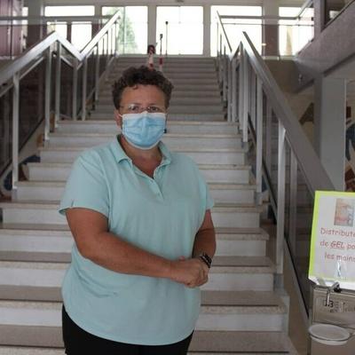 Rentrée masquée au lycée Henri-Avril