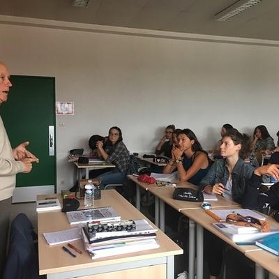 Témoignage vivant de faits de représailles par les Allemands lors de la Seconde Guerre Mondiale aux élèves de Terminale S.