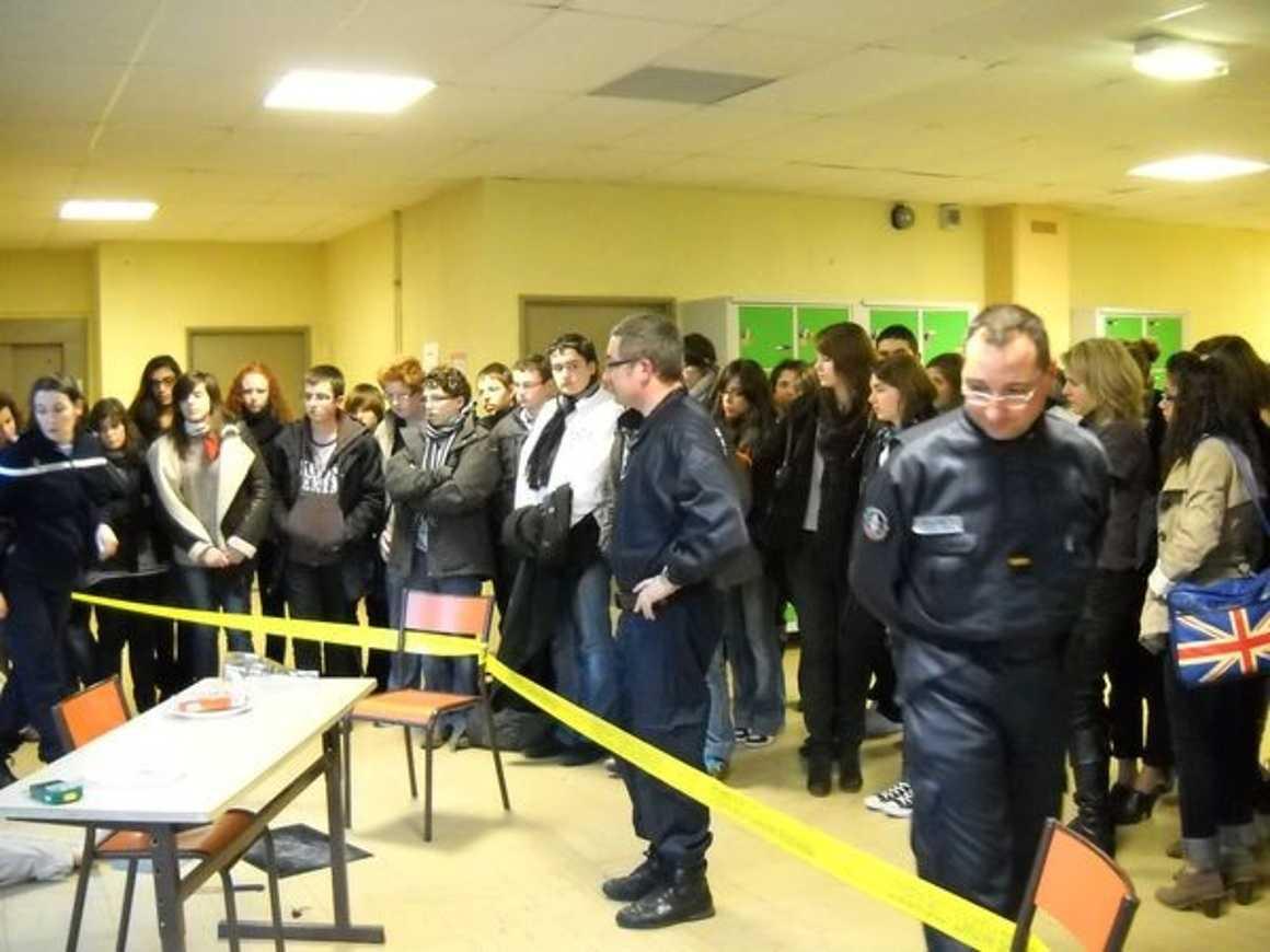 La gendarmerie scientifique au lycée 0
