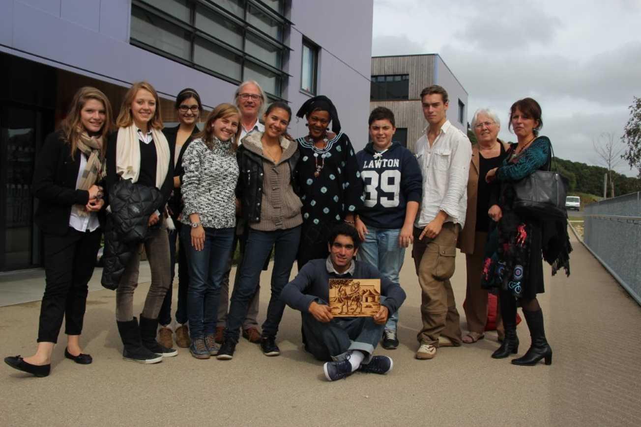 """Les élèves du club """"Les Ptits du Mali"""" ont rencontré Djénaba Traoré stagedjeneba063"""