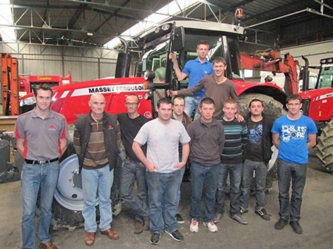 Des techniciens en stage au lycée Henri-Avril (Ouest France) 0