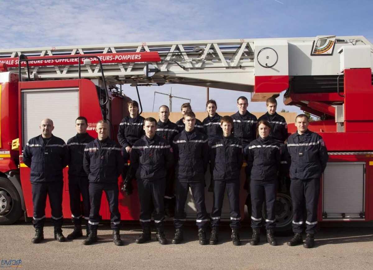 Les élèves de la Mention Complémentaire «Sécurité Civile et d'Entreprise» en formation à l'Ecole Nationale Supérieure des Officiers de Sapeurs-Pompiers d'Aix en Provence 0