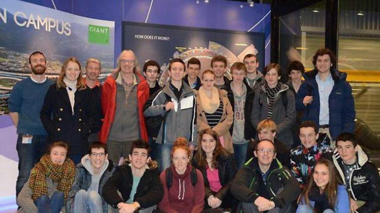 Les lycéens bretons au synchrotron (OF) 0