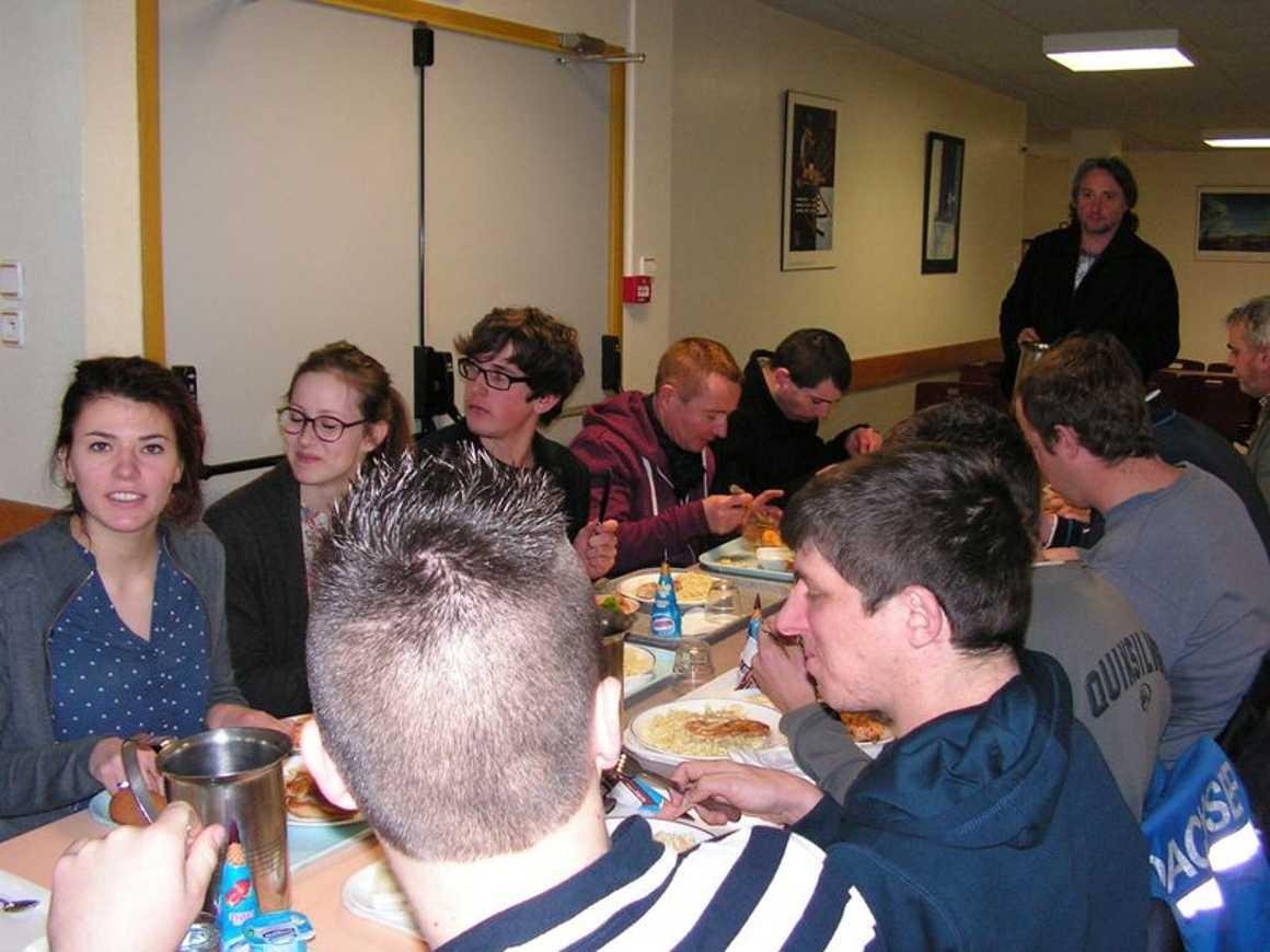Après le boeuf musical, le CVL et les adultes de l''ADAPEI ont déjeuné ensemble 0