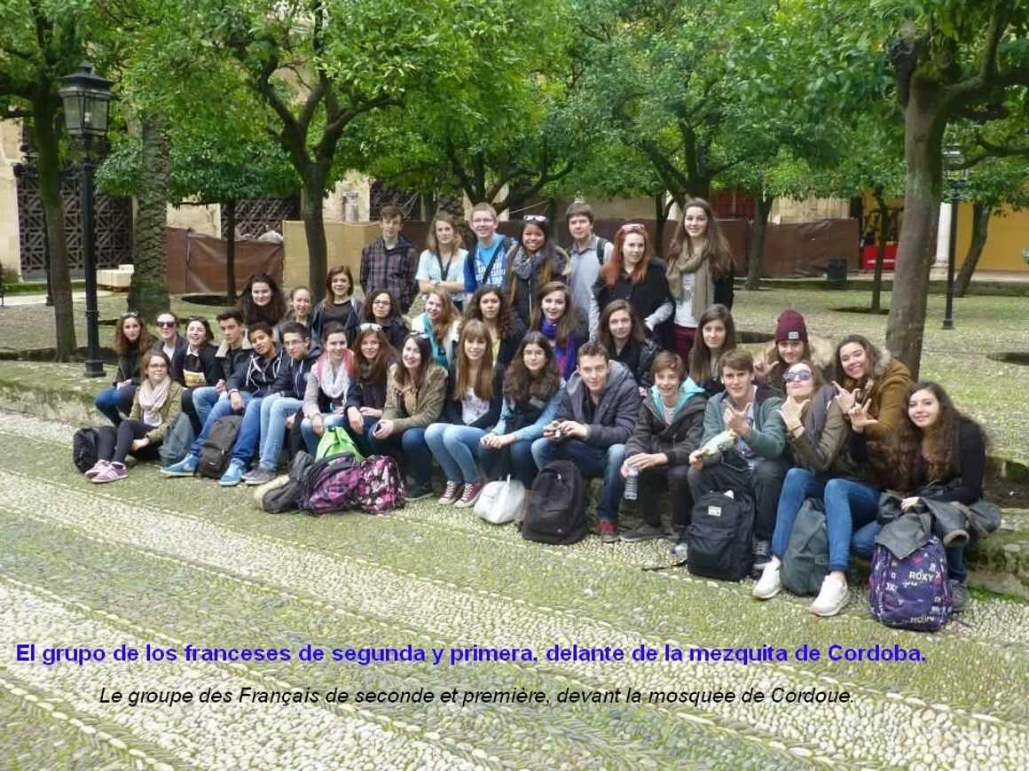 Diario del intercambio con Andalucia, Journal de l''échange avec l'' Andalousie cordobamartes