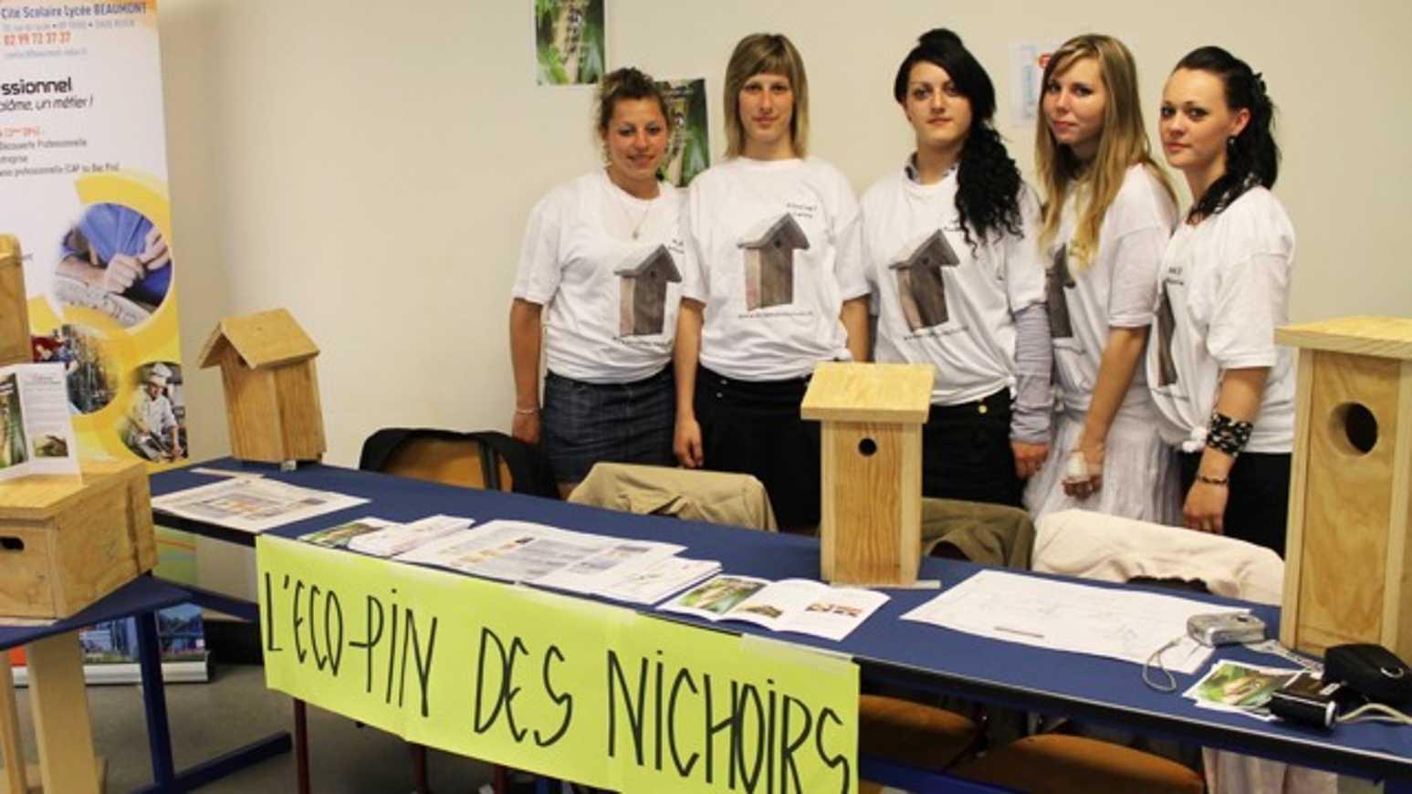 """Le concours régional """"Une entreprise dans votre lycée"""" 2014 prime sept lauréats à Lamballe 0"""