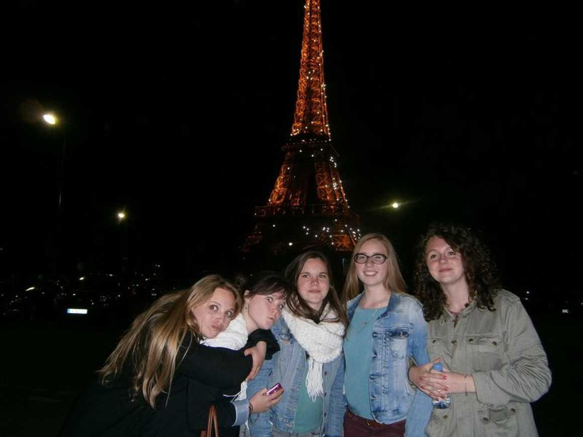 Les 1ères ES1 et 1ère S2 à Paris p4170056