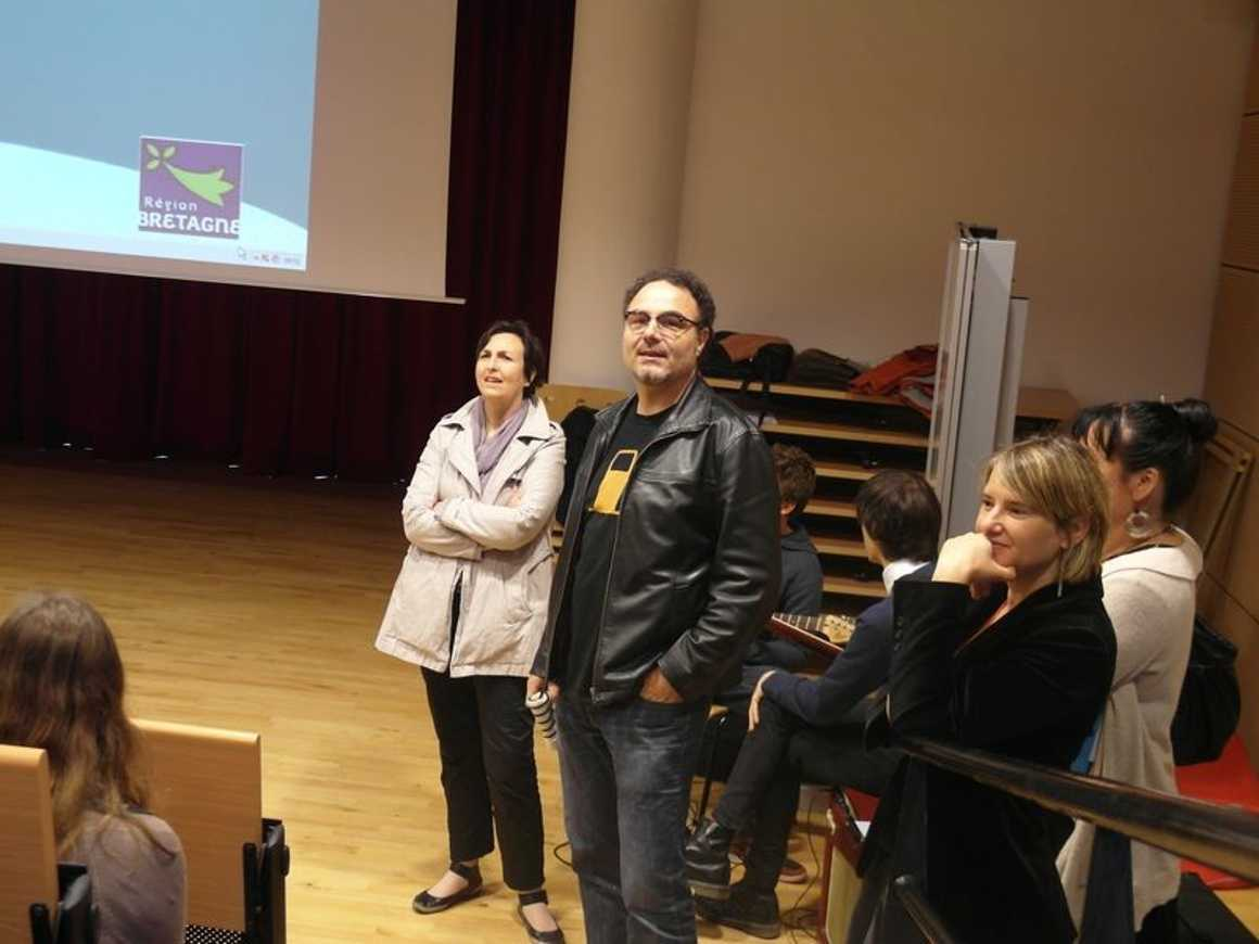 Benoit Severac deuxième lauréat du prix epolar sam3476