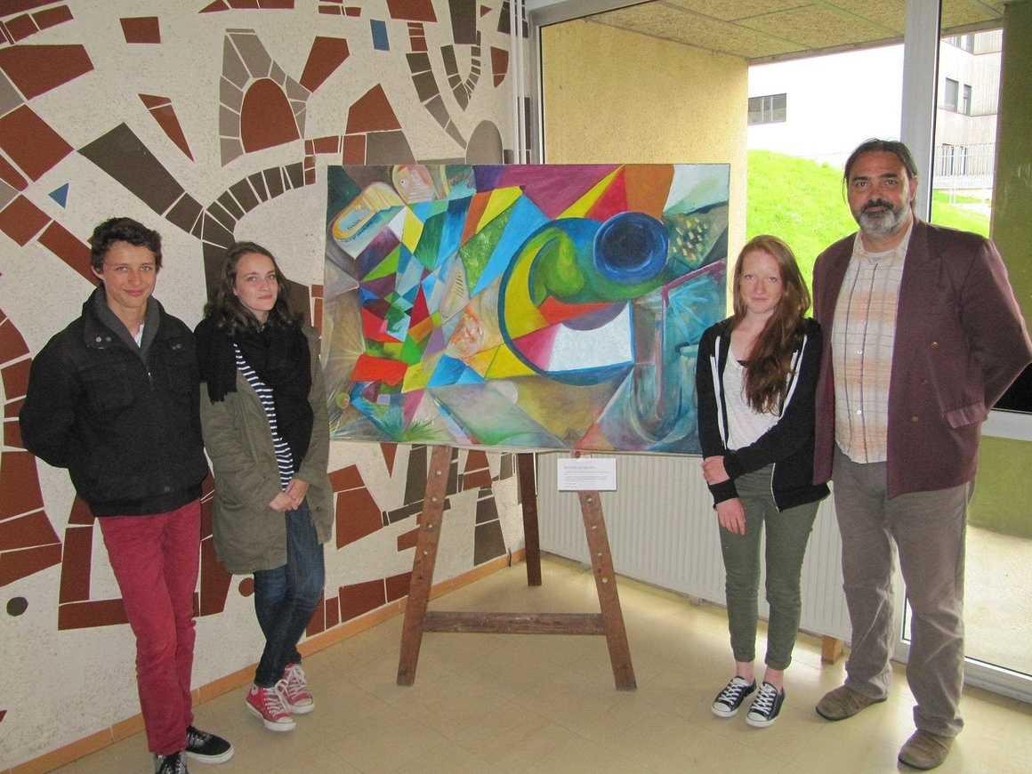 Vernissage de l''exposition d''Olivier Nocet et Thual Niogret 0