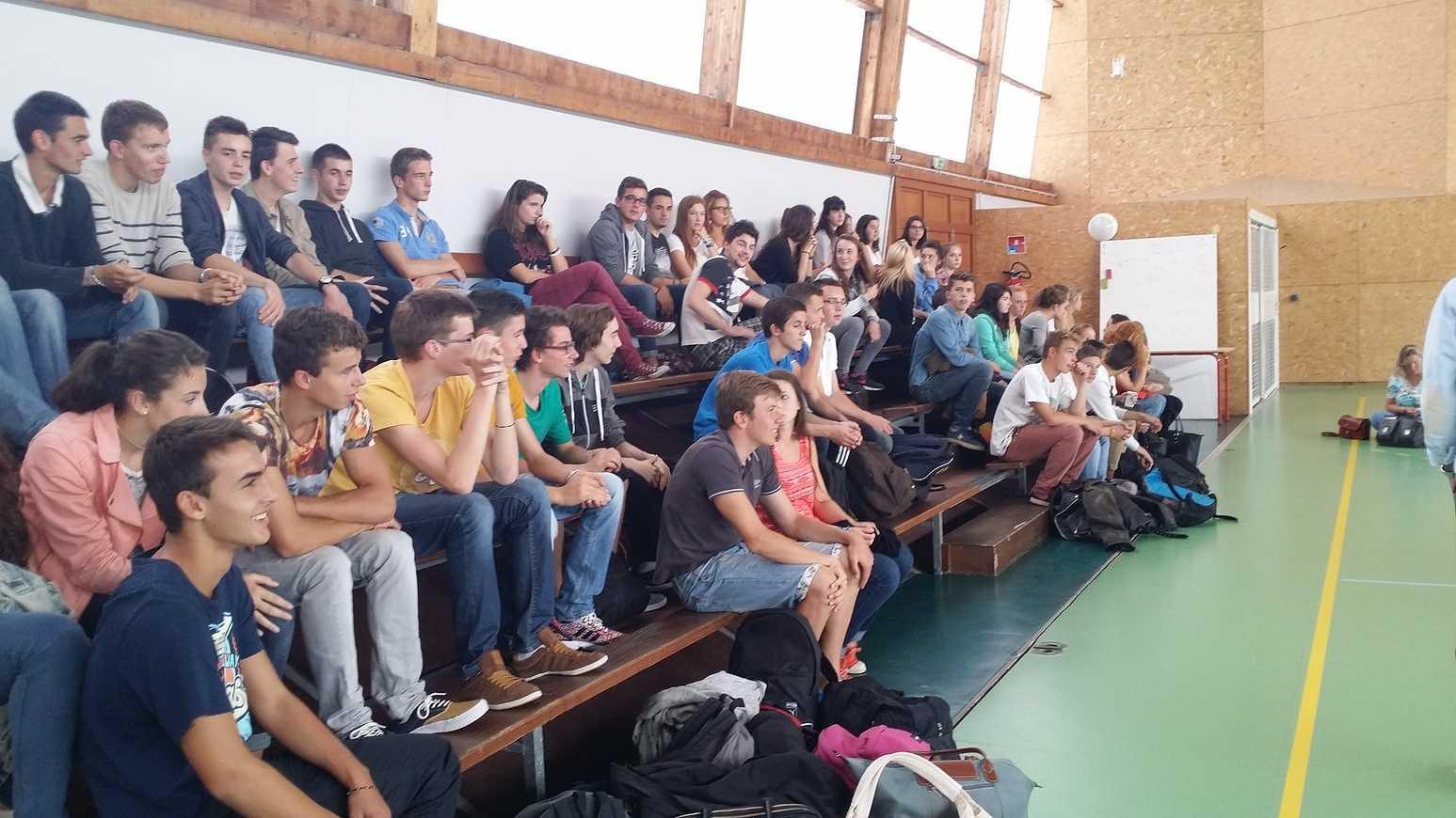 """Demi-journée d''intégration pour les élèves du """"projet Alpes"""" 0"""