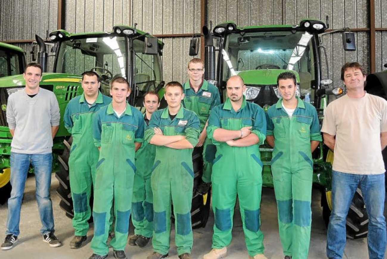 Un stage CQP technicien matériel agricole (Le Télégramme) 0