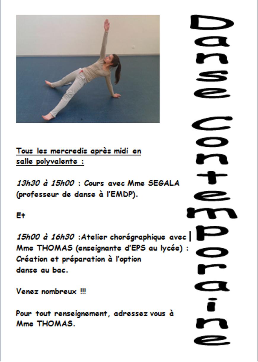 Danse contemporaine 0