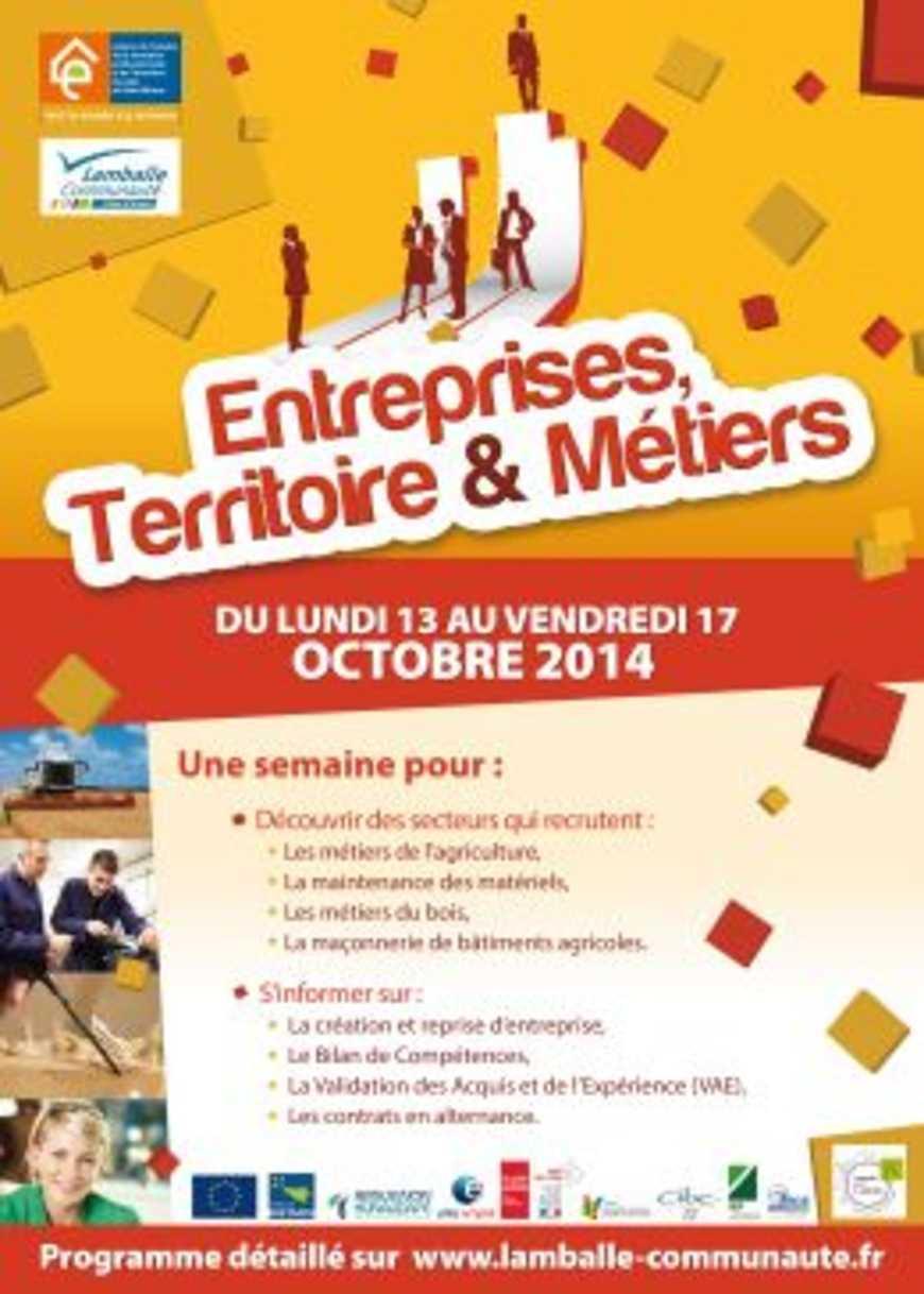 Entreprises, Territoire et Métiers 0