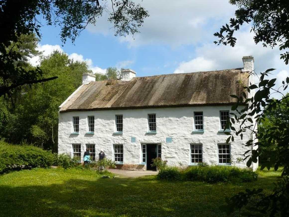 """Visite du Ulster American Folk Park pour """"les Irlandais"""" 0"""