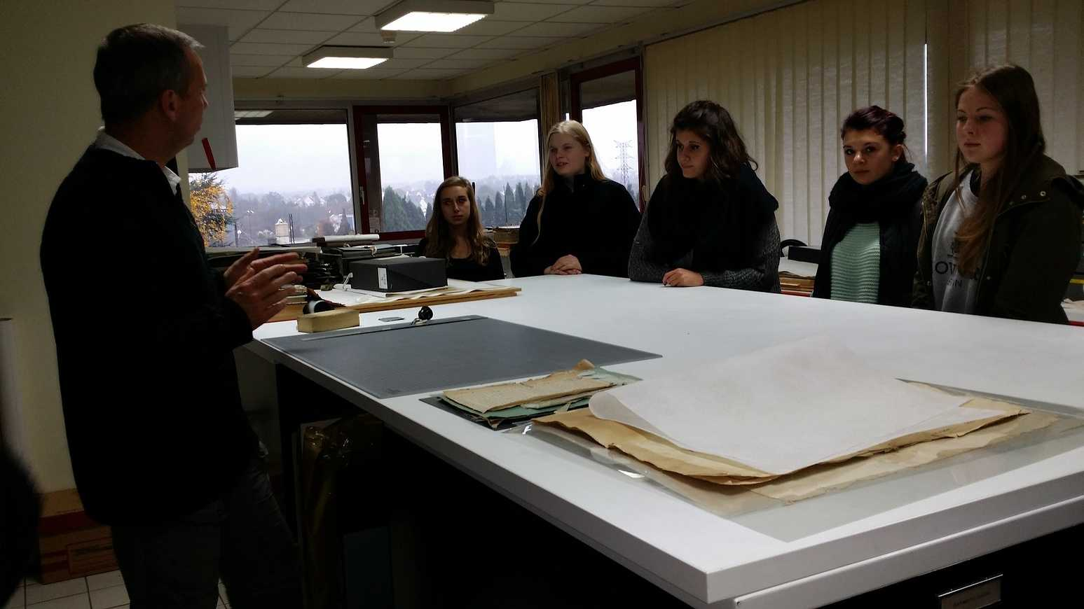 Un après midi bien chargé aux Archives départementales 0