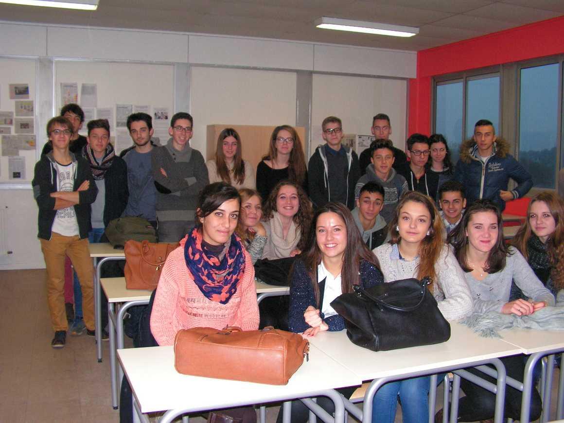 Rima Cheldi a rencontré des élèves du lycée 0