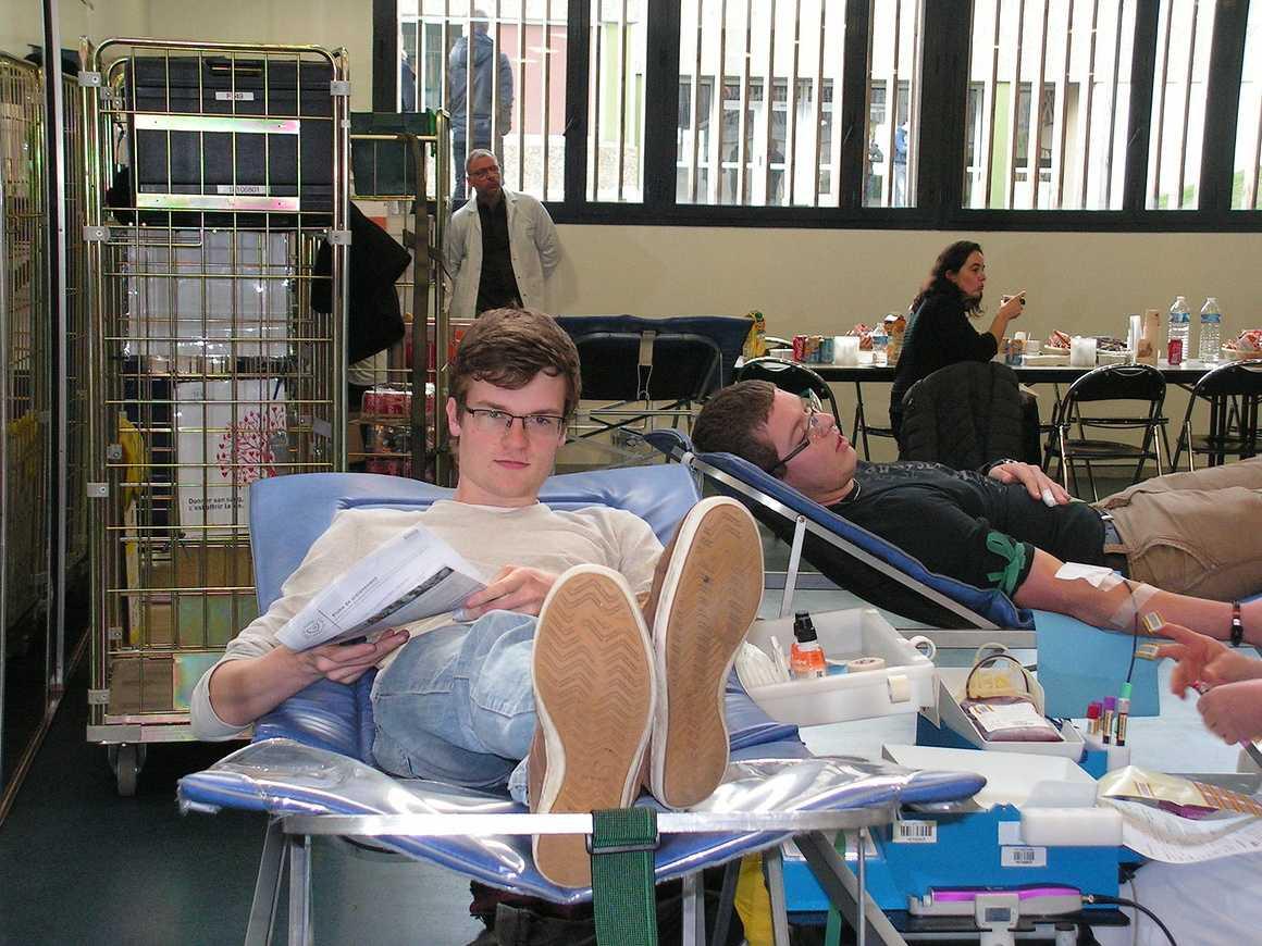 Don du sang : belle participation au lycée 0