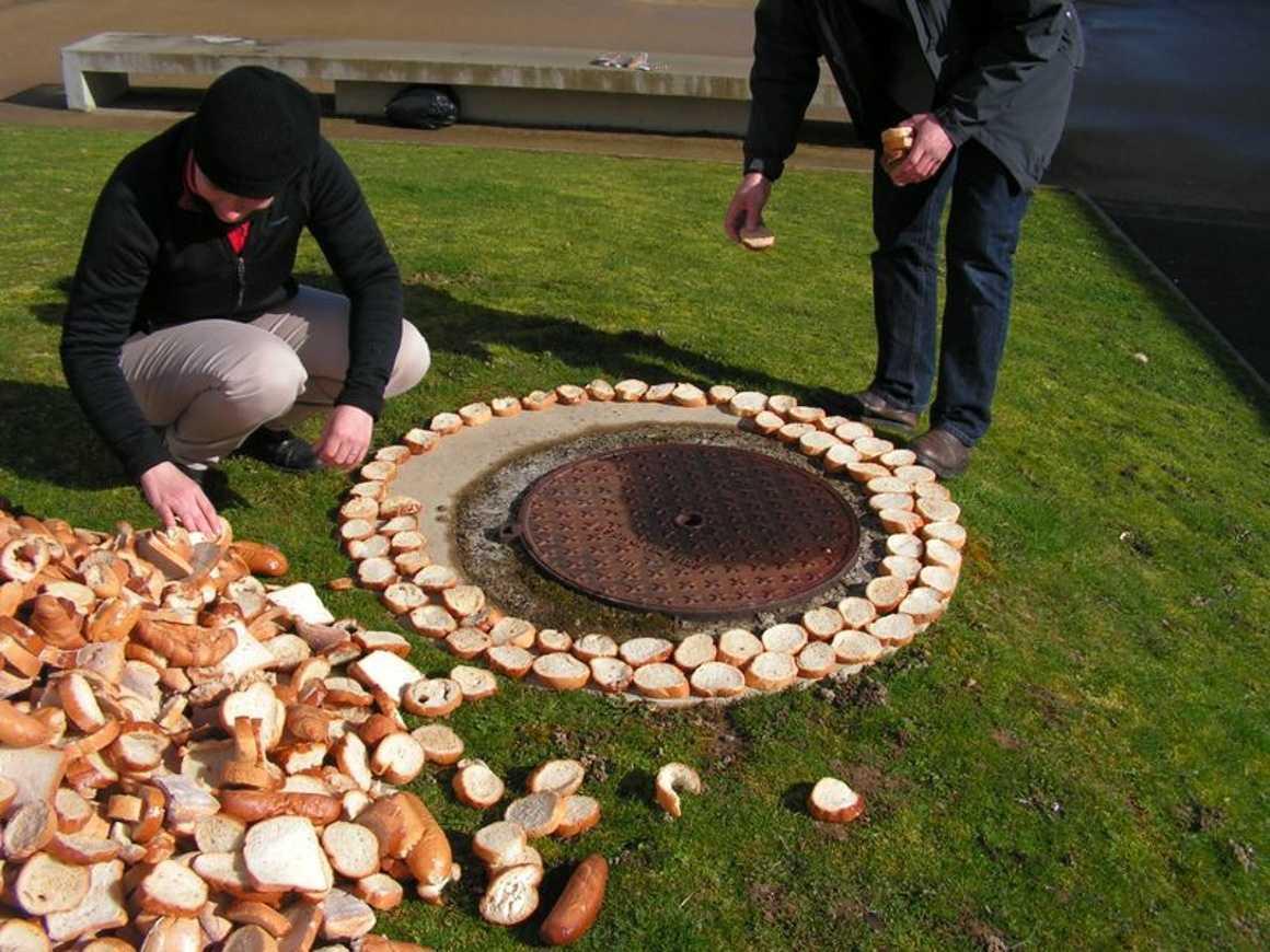 Une tour de pain s''élève devant l''internat pict0458