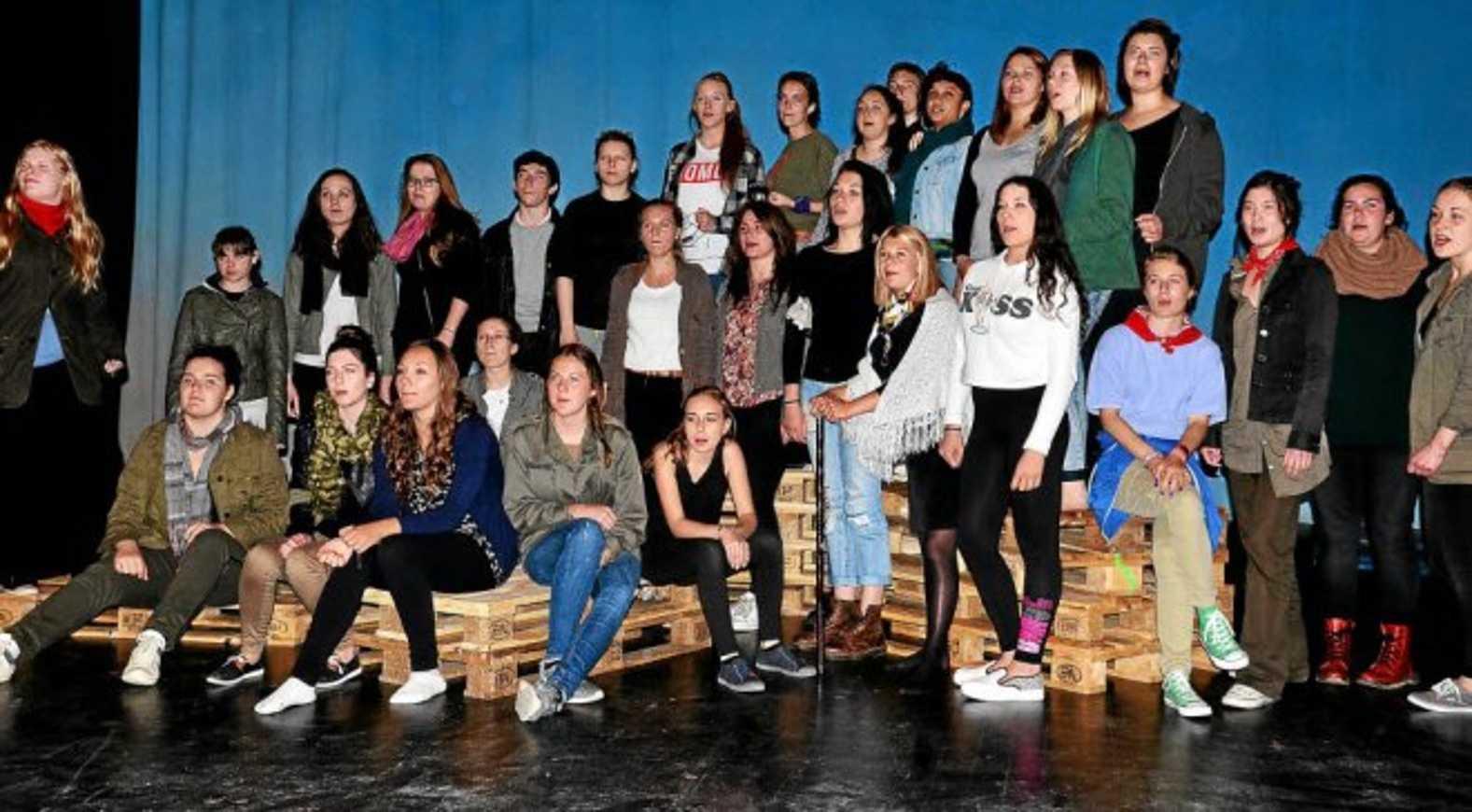 Les lycéens jouent leur pièce aujourd''hui au Quai des Rêves (le télégramme) 0