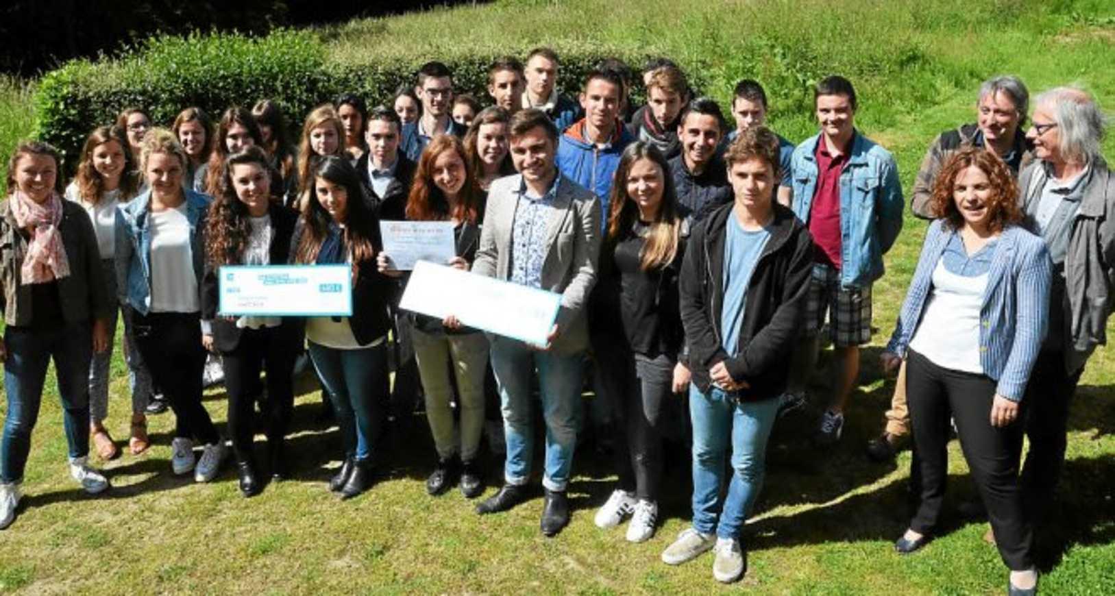 Les élèves initiés à la création d''entreprise (le télégramme) 0