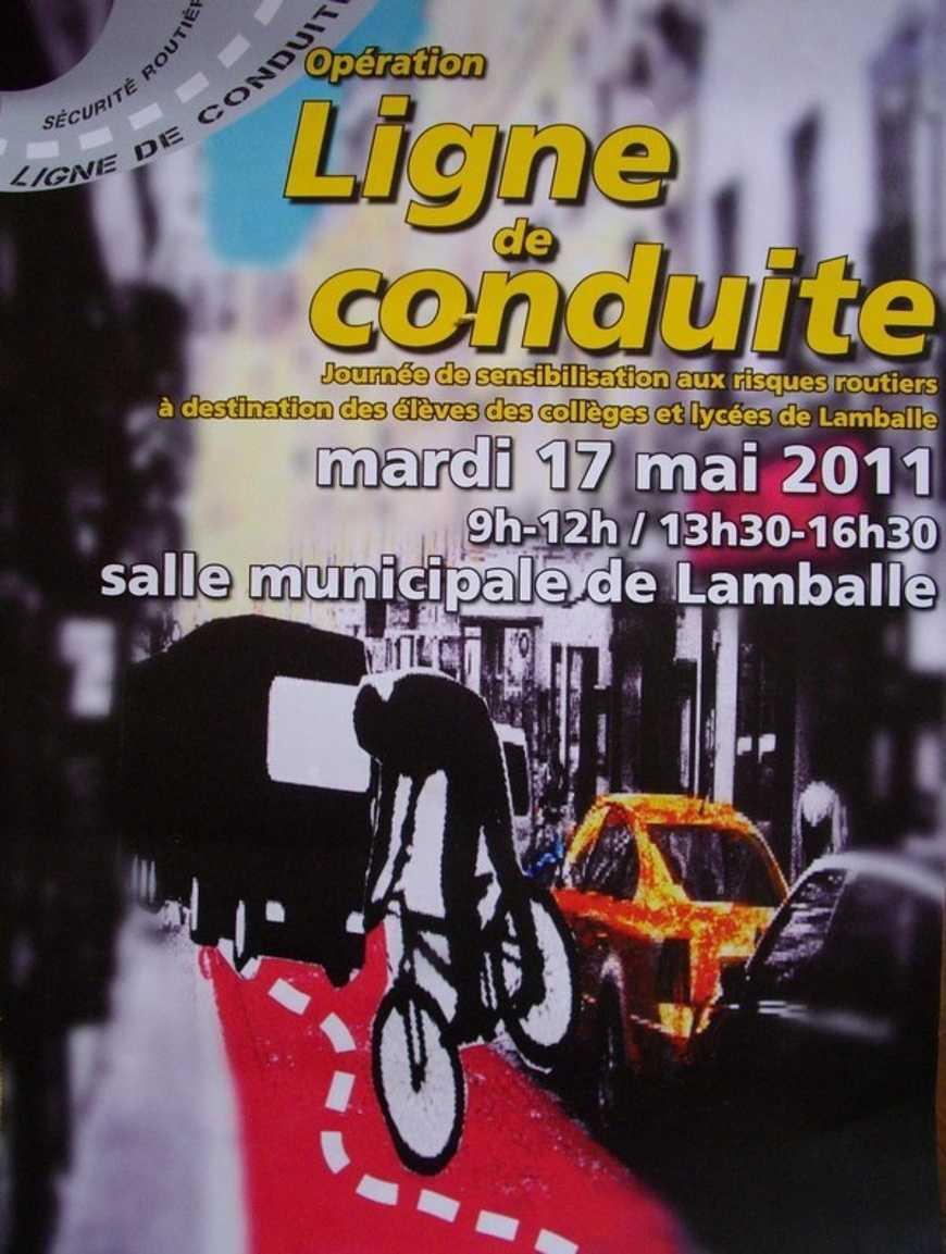 Un élève du lycée lauréat d''un concours d''affiche organisé par la Mairie de Lamballe 0