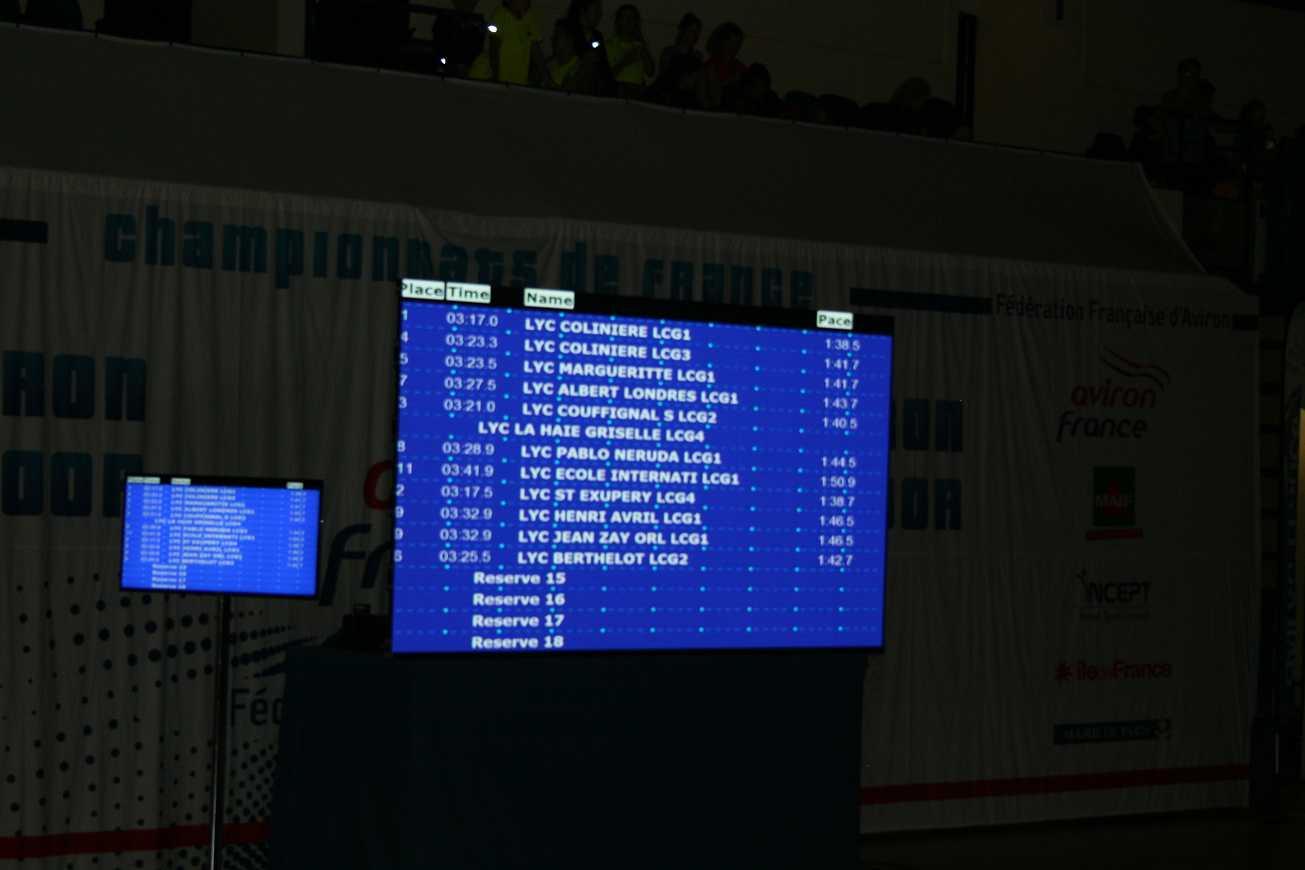 Championnat de France d'aviron indoor. img9394