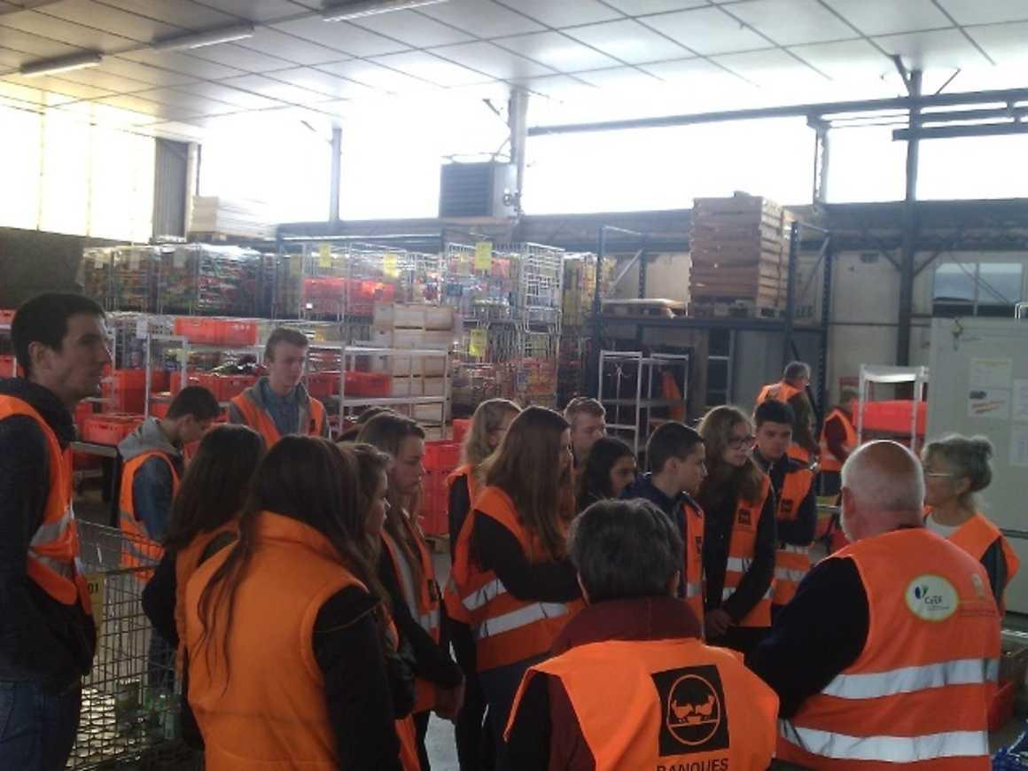 394.2 kg de denrées collectées pour la Banque alimentaire des Côtes d'Armor legroupe