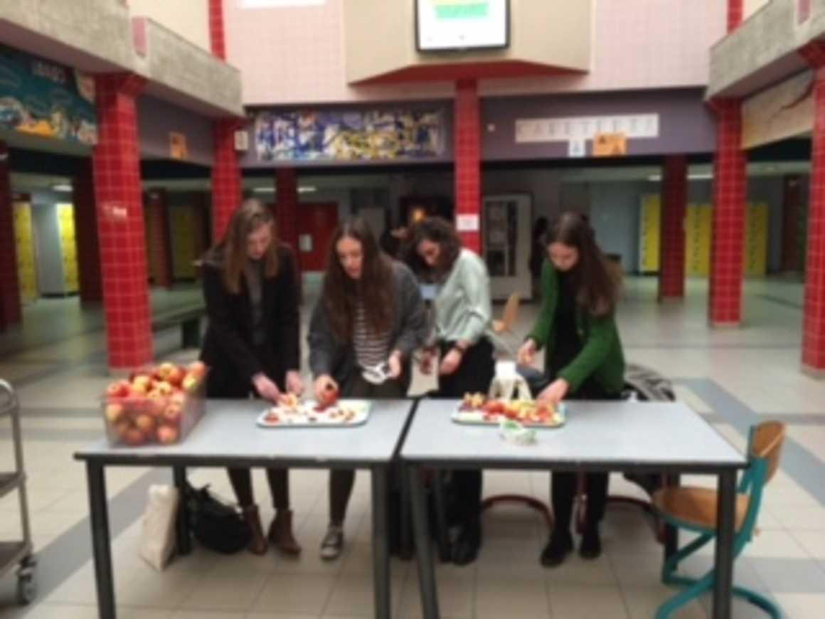 """""""Pommes à la récré"""": première ! 0"""