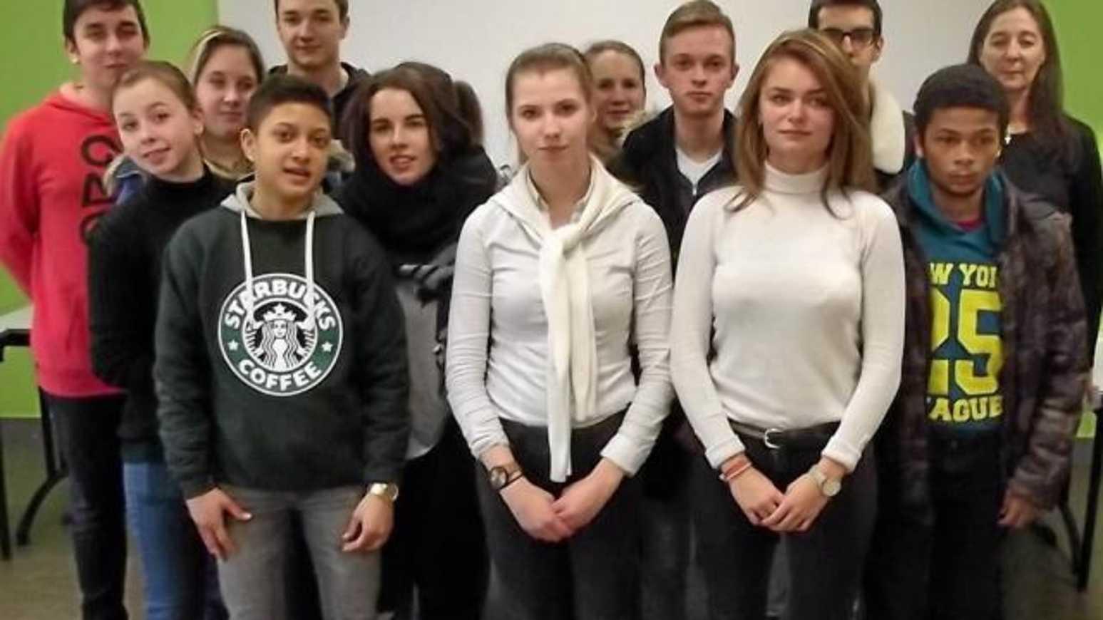 Un concours d''orthographe au lycée 0