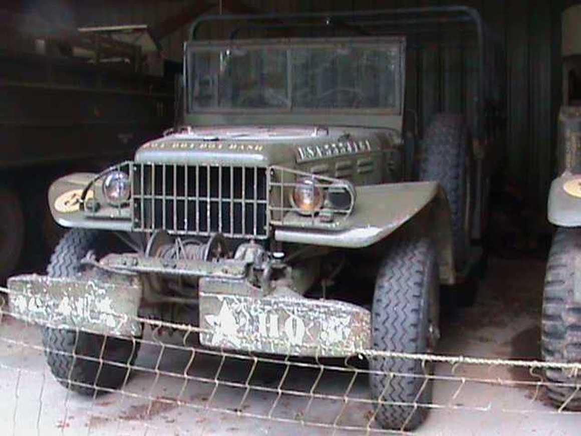 Sortie au musée de la résistance bretonne de St Marcel (56) jeep