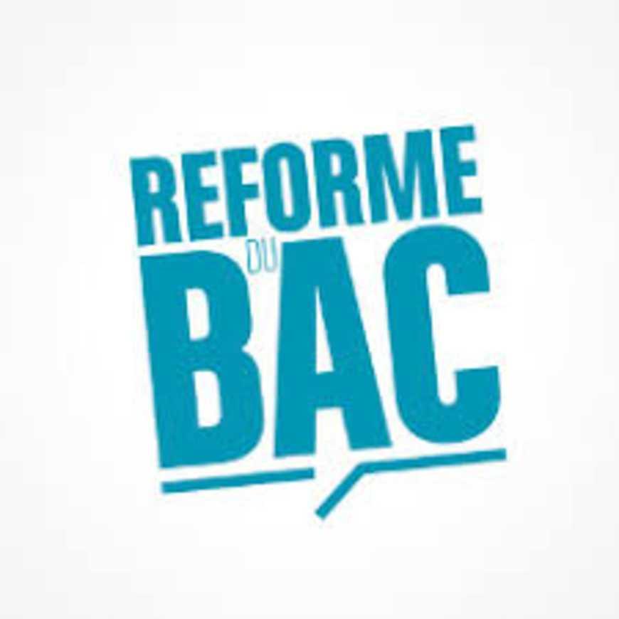 Présentation de la réforme du bac 0
