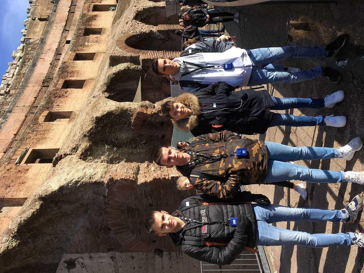 Les Terminales de Bacs Pro GAC et TP en séjour à Rome img5396