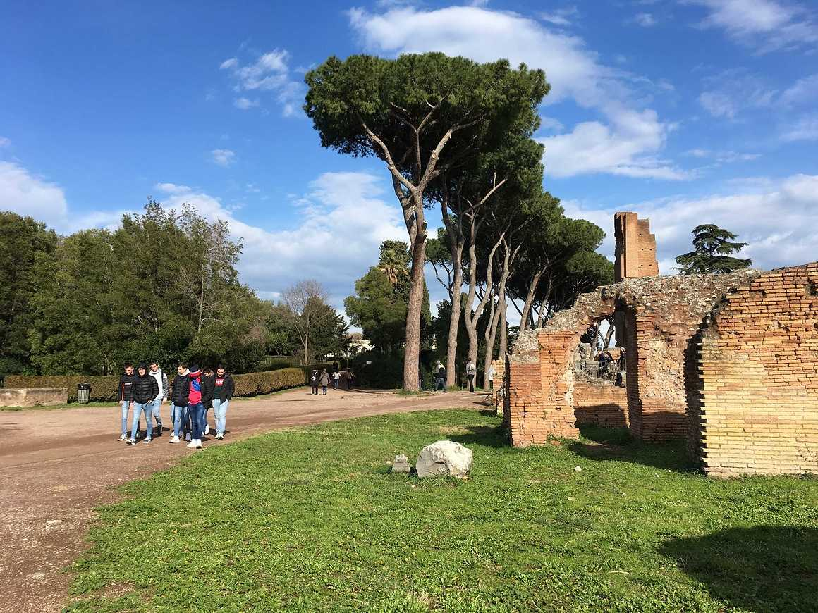 Les Terminales de Bacs Pro GAC et TP en séjour à Rome img5405
