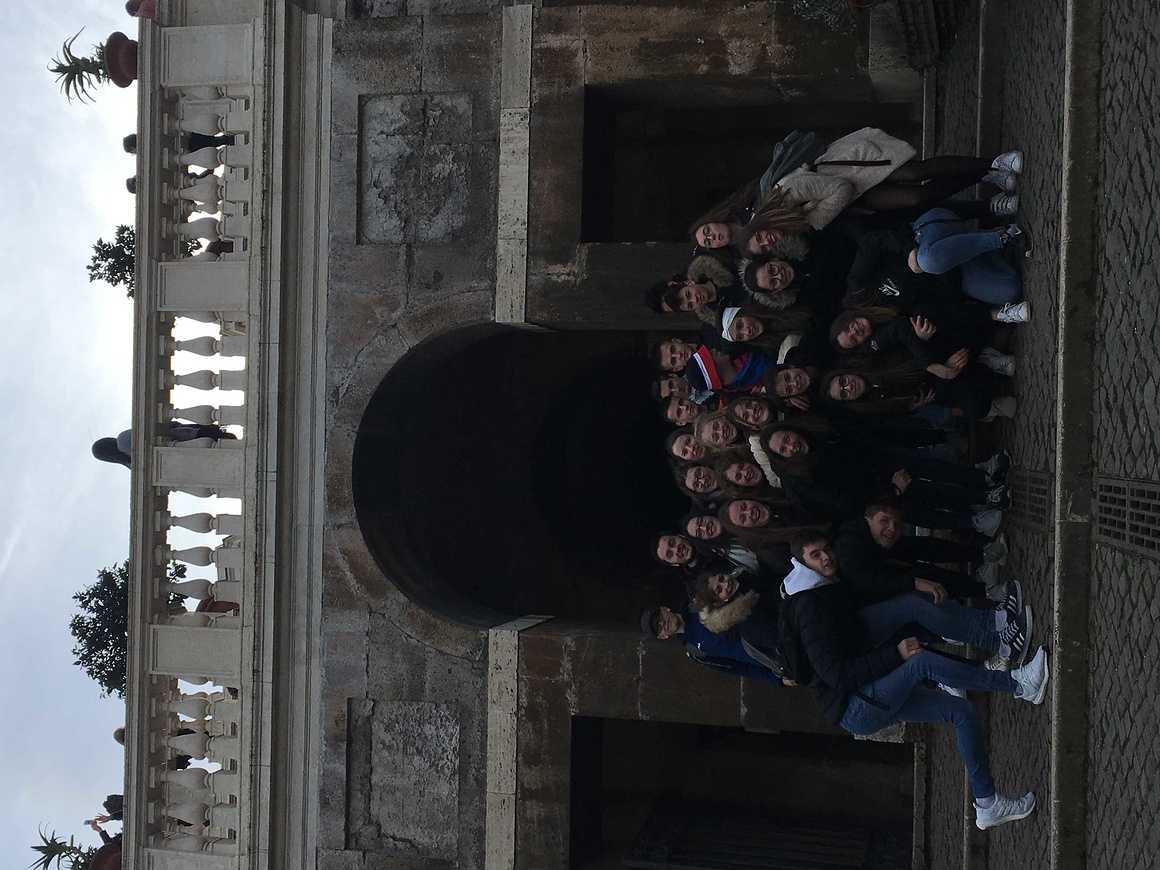Les Terminales de Bacs Pro GAC et TP en séjour à Rome img5430