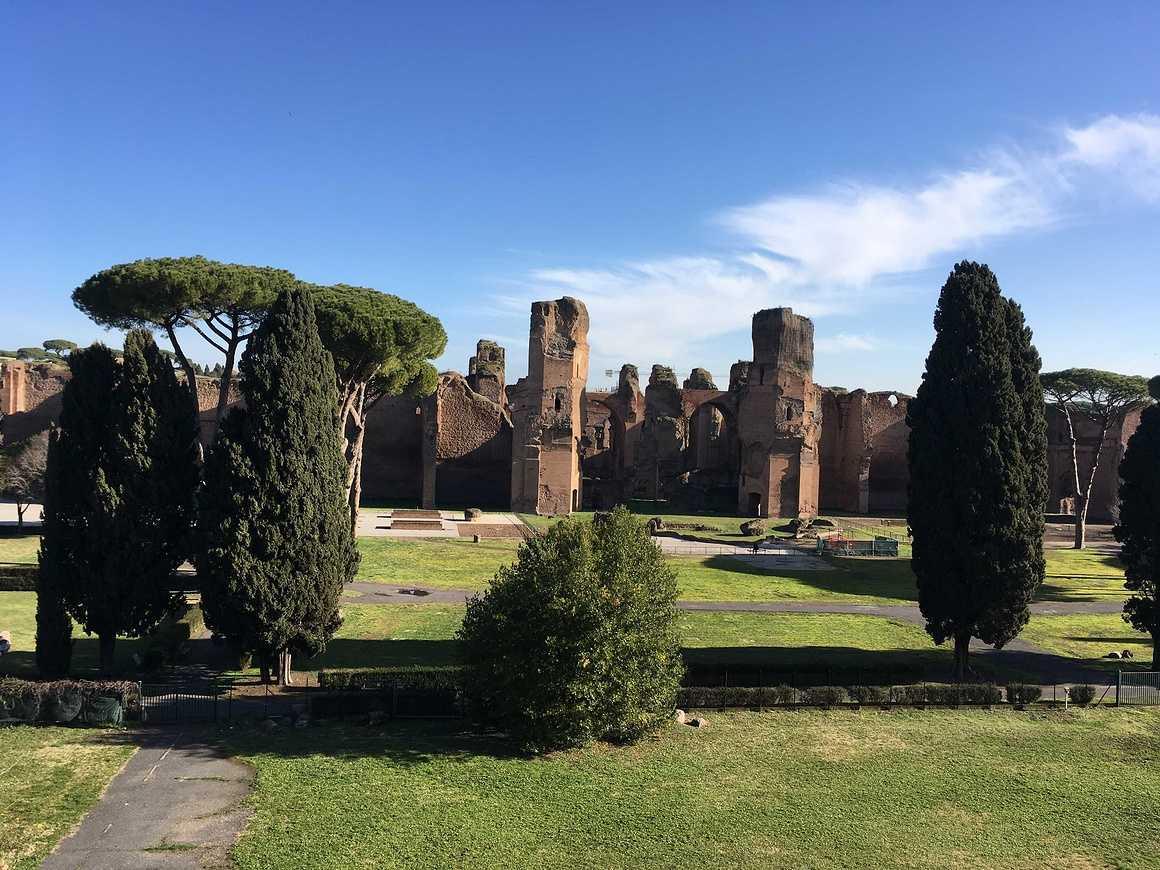 Les Terminales de Bacs Pro GAC et TP en séjour à Rome img5468