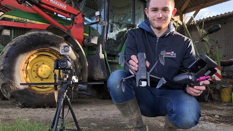 A 17 ans, Maël filme le monde agricole 0