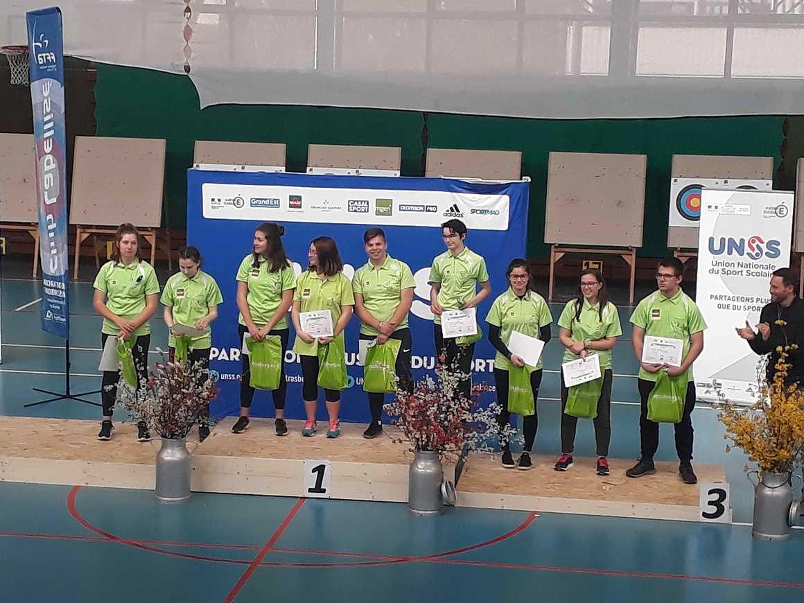 Championnat de France UNSS de Tir à l''Arc 20190322113807