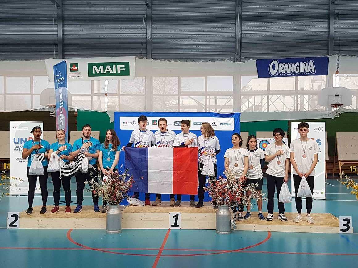 Championnat de France UNSS de Tir à l''Arc 20190322115402