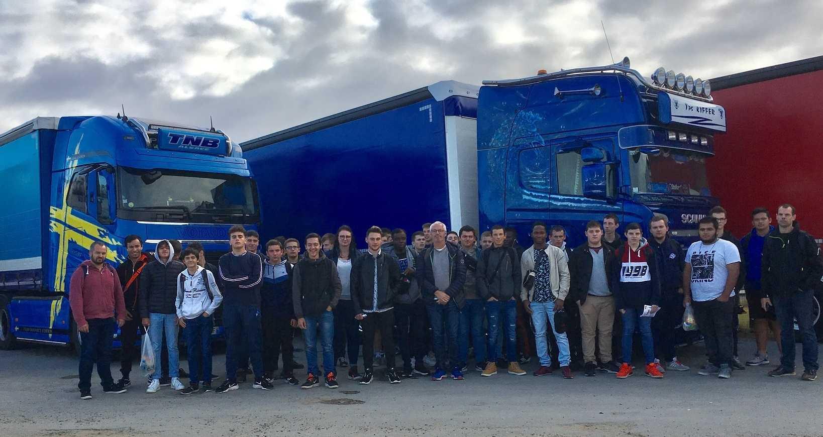 Les Bac pro maintenance VTR-MEV aux 24h du Mans Camions 0