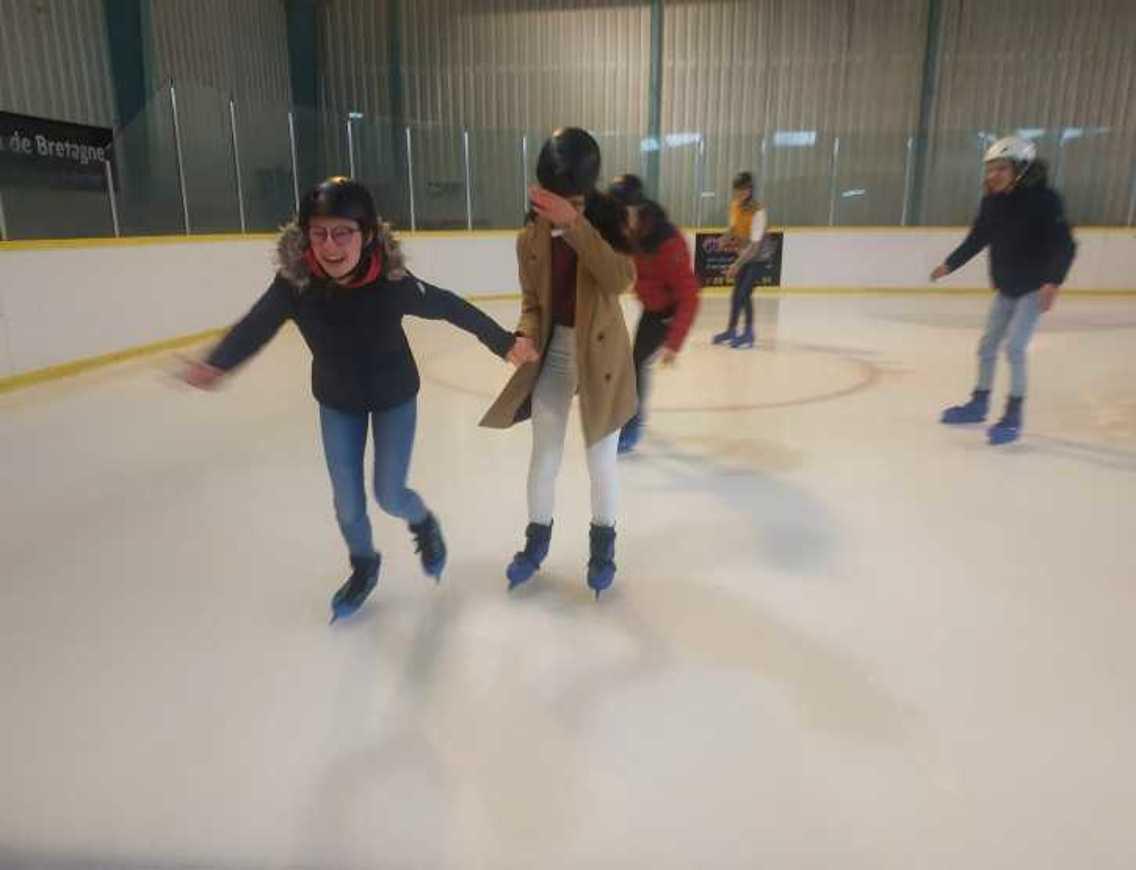 Les internes patinent patinoire5