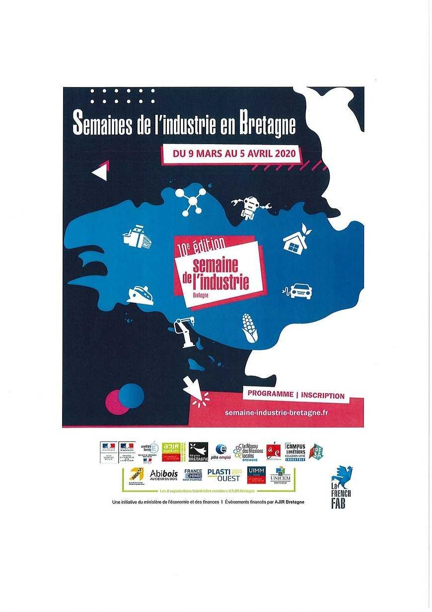 10ème édition de la Semaine de l''Industrie en Bretagne 0