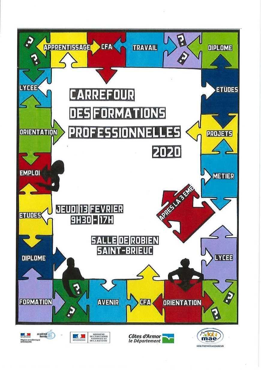 Carrefour des formations professionnelles 2020 0