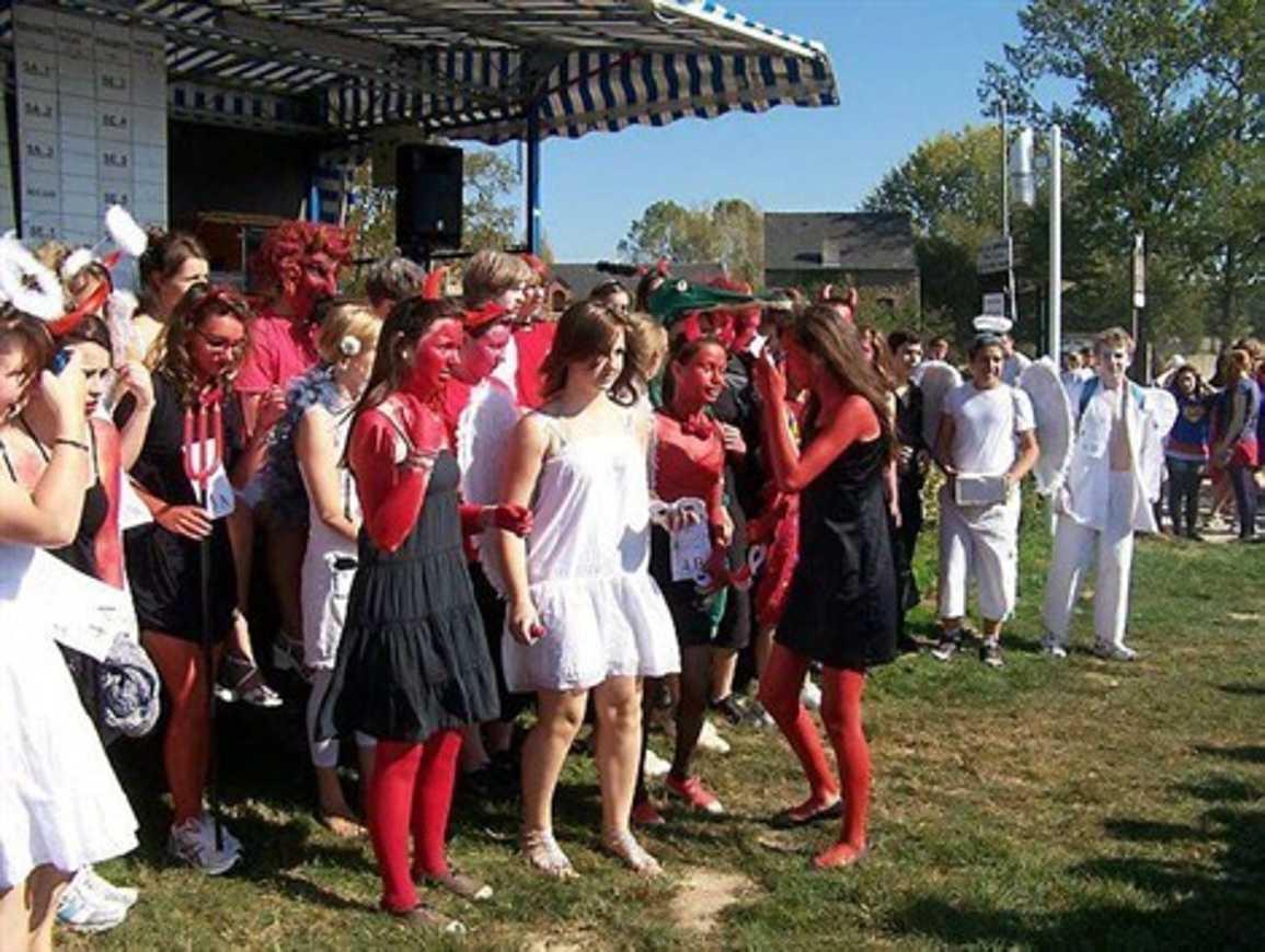 Un biathlon d''intégration pour les lycéens (article OF) 0