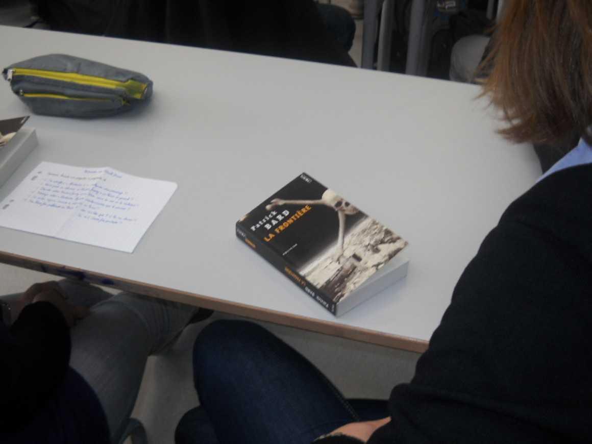 L''écrivain Patrick Bard a rencontré des élèves du lycée dscn1576