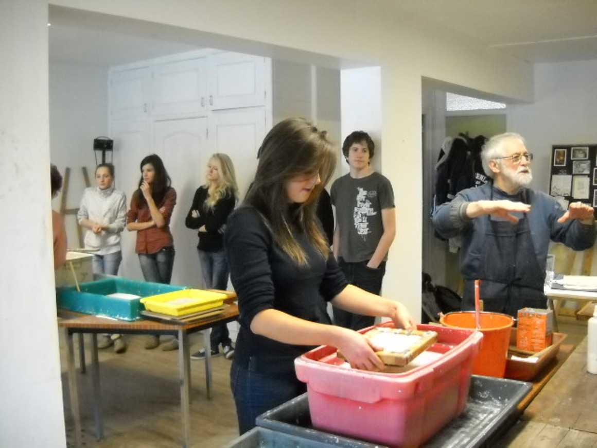 Fabrication de papier, visite des archives, d''une scierie et des jardins municipaux dscn1796