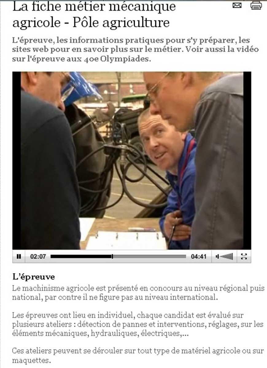 Olympiade des métiers à Rennes 0