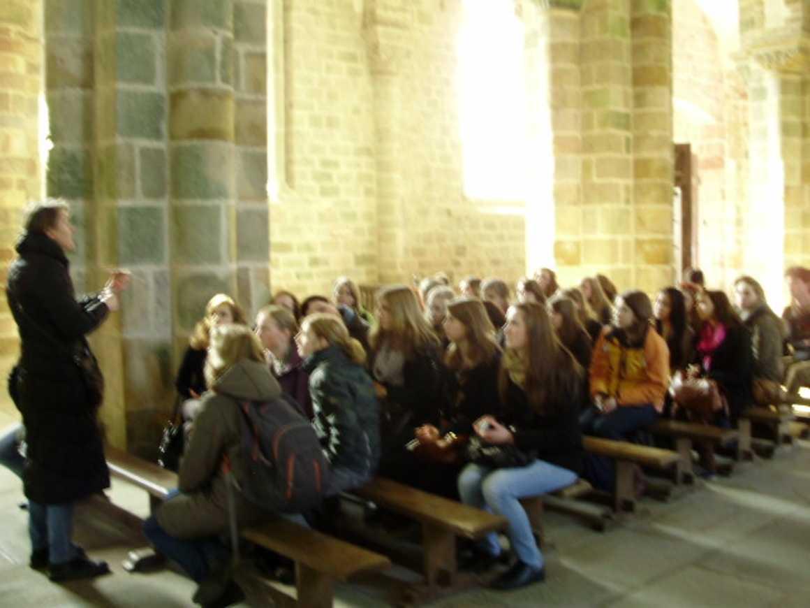 Sortie au Mont St Michel et St Malo pour les correspondants allemands p3120141