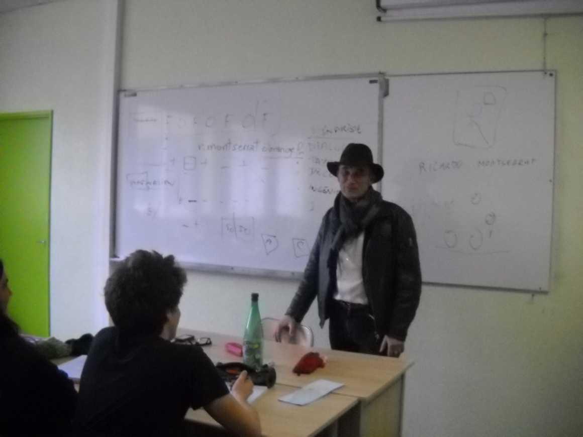 Rencontre avec Ricardo Montserrat 0